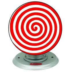 Wilesco M69/1 Disque psychédélique rouge / blanc