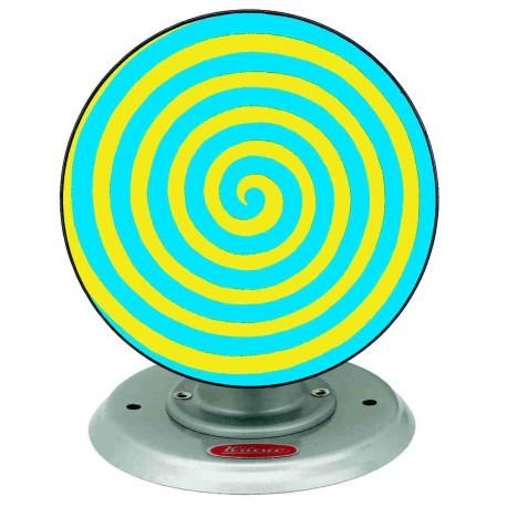 Wilesco M69/3 Disque psychédélique bleu / jaune