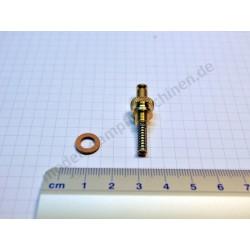 Soupape de sécurité à ressort, À PARTIR DE 1990, filetage fin M 6 x 0,75, laiton