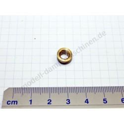 Lötring/Bundmutter M 6 für Dampfpfeife und Manometer