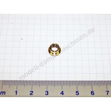 Écrou d'assemblage / joint M 6 x 0,75 pour soupape de sécurité à ressort