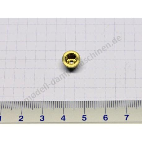 Lötring/Bundmutter für Dampfrohrverschraubung, M 6 x 0,75