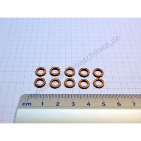 Joints pour sifflet de vapeur et dôme de vapeur, 10 pièces, filetage M5