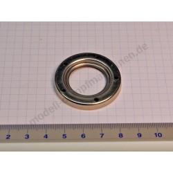 Anneau métallique pour verre de niveau d'eau, diamètre 27 mm