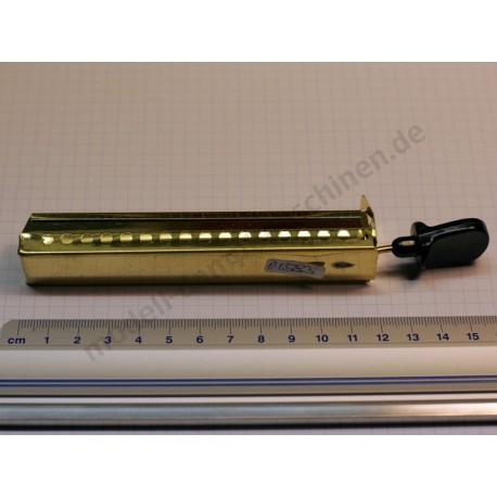 Burner slide, brass 120 mm