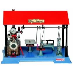 D141 Machine à vapeur avec atelier