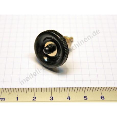 Steam supply valve without valve body base, brass