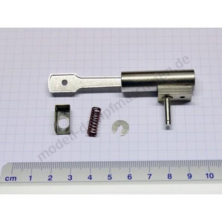 Schwingzylinder, Kolben mit Stange, Feder, Pleuel
