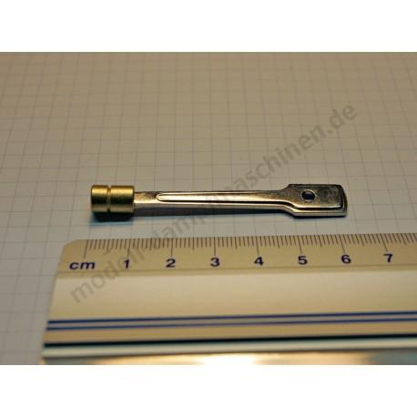 Kolben mit Stange, Durchmesser 7 mm