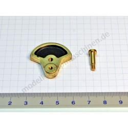 Crank disc with  bolt screw