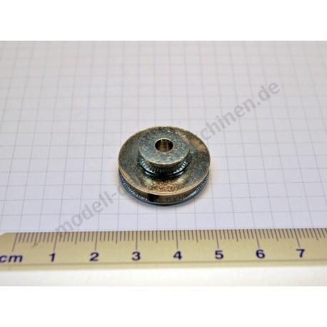 Poulie d'entrainement double, 25 mm diamètre