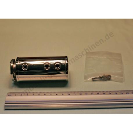 Kessel mit Federsicherheitsventil inkl. Glas und Befestigungsklammer