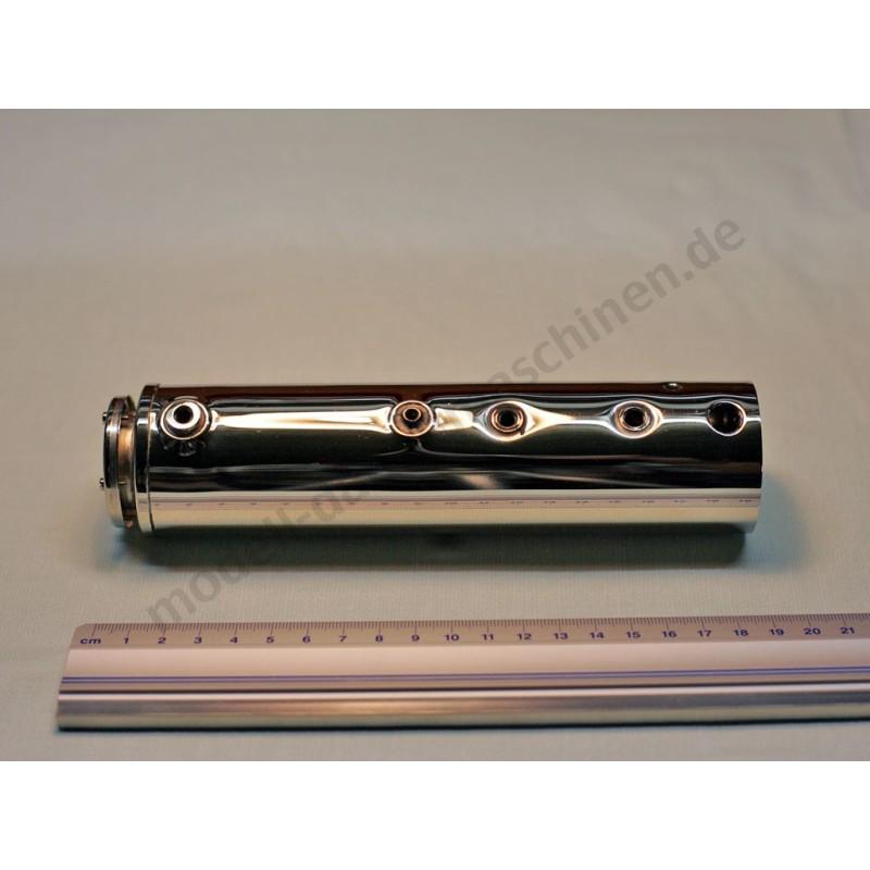Kessel mit Federsicherheitsventil inkl. Glas - Modell-Dampfmaschinen
