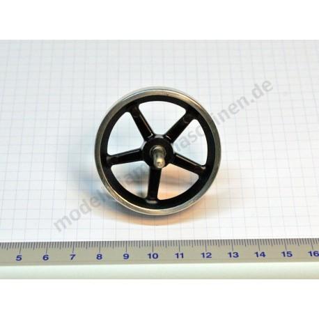 Schwungrad 50 mm, mit Achse