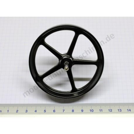 Schwungrad 80 mm, mit Achse