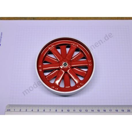 Wheel, rear, 100 mm diameter