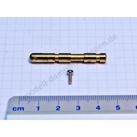 Schieberstange mit Schraube, Durchmesser 5 mm