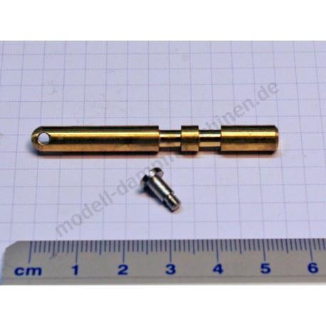 Schieberstange 6 mm mit Schraube