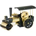 D366 Rouleau compresseur à vapeur noir / laiton