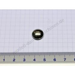 Befestigungskappe für 4 mm Achse, vernickelt