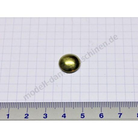 Capuchon de fixation pour axe de 4 mm de diamètre (laiton)