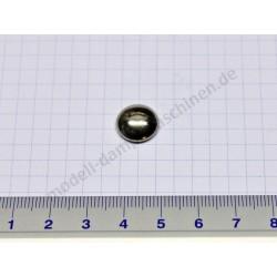 Capuchon de fixation pour axe de 5 mm de diamètre (nickelé)