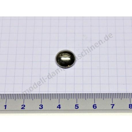 Befestigungskappe für 5 mm Achse, vernickelt