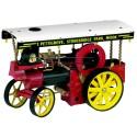 """Wilesco D409 Tracteur à vapeur """"Showman's Engine"""" avec éclairage"""