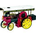 """Wilesco D499 Tracteur à vapeur """"Showman's Engine"""" avec éclairage incl. télécommande"""