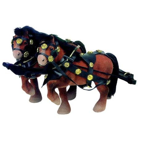 Wilesco Z431 Attelage de chevaux