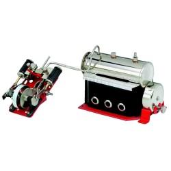 Wilesco D48 Machine à vapeur pour bateaux à 2 cylindres
